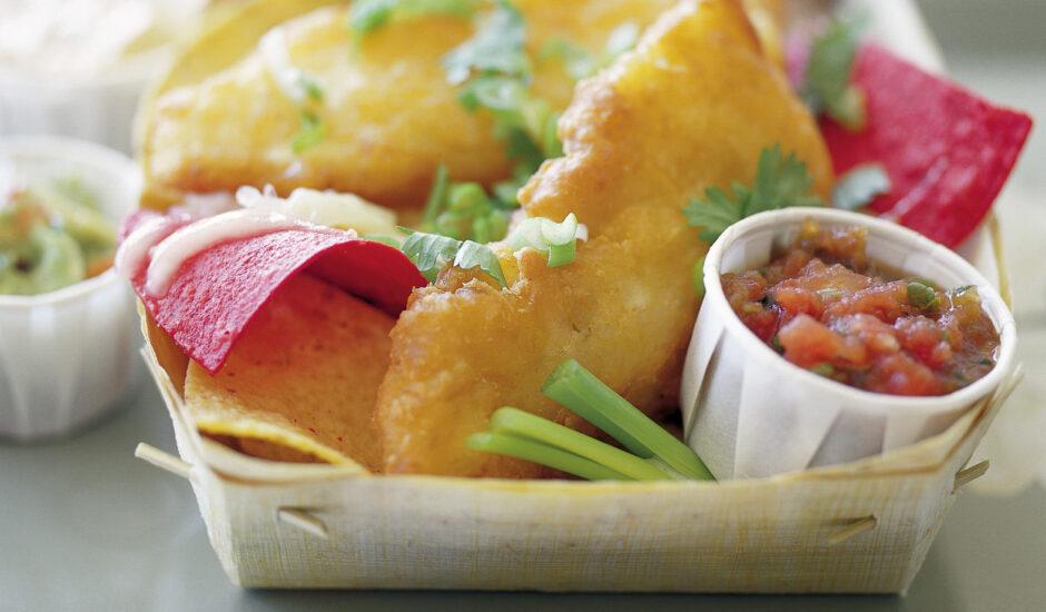 Fish 'n Chips 'n Salsa