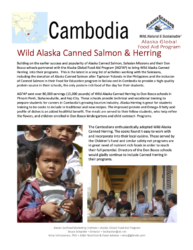 Asia: Cambodia Alaska Global Food Aid Program