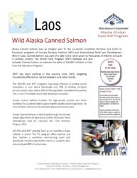 Asia: Laos Alaska Global Food Aid Program