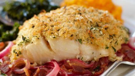 Thyme-Crusted Alaska Sablefish