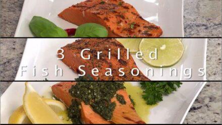Chef John Ash Presents Grilled Fish Seasonings