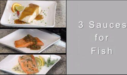Chef John Ash Presents 3 Sauces For Fish