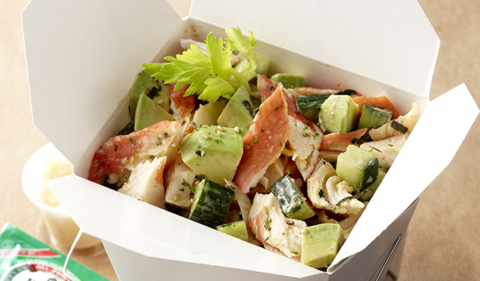 "Spicy ""Alaska Roll"" Surimi Salad"