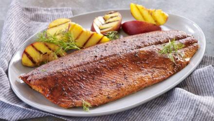 Sweet-Smoky-Spicy Alaska Salmon Rub