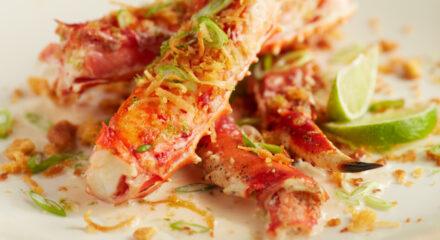 Coconut-Lime Injected Alaska King Crab (Foodservice Version)