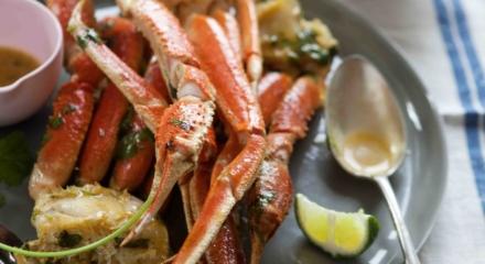 Lime Chipotle-Roasted Alaska Snow Crab