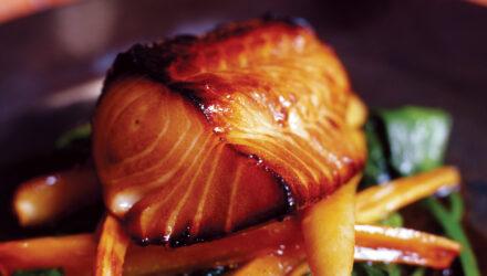 Alaska Sablefish Marinated with Acacia Honey