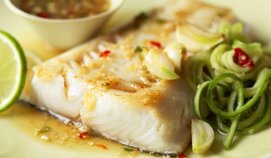 Alaska Sablefish with Ginger-Lime Sauce