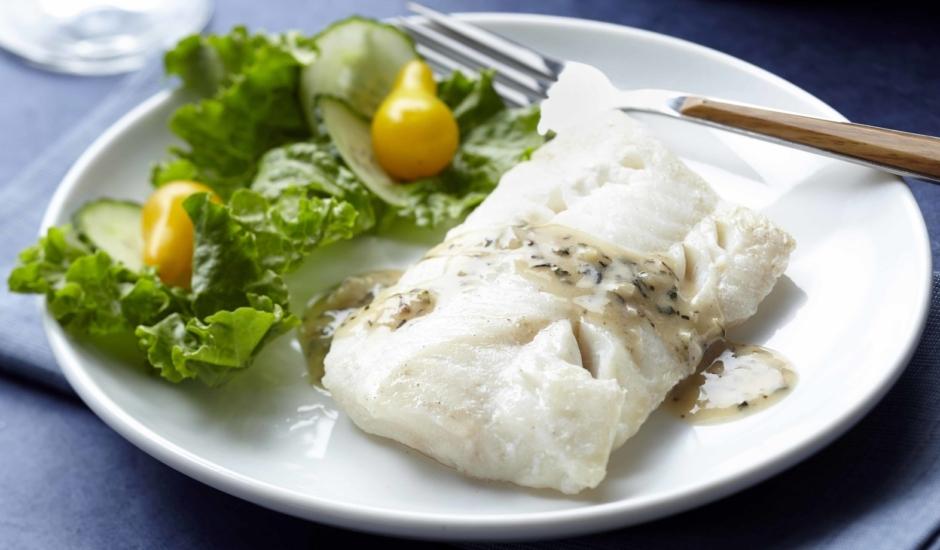 Pan Steamed Alaska Seafood Marseilles