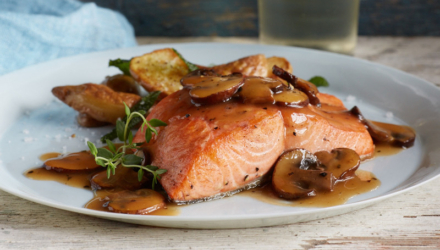 Cooking with Salmon 1