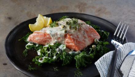 Alaska Salmon Piccata