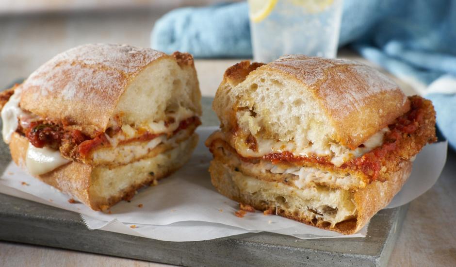 Wild Alaska Sole Parmesan Sandwich