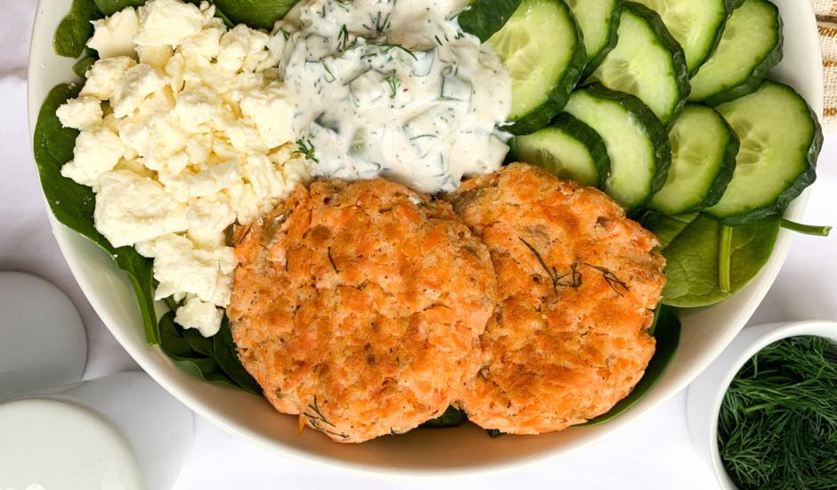 Gluten Free Oven-Baked Alaska Salmon Burgers