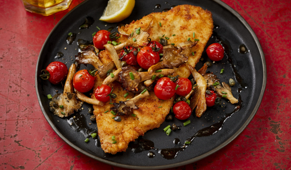 Alaska Sole Schnitzel With Browned Butter