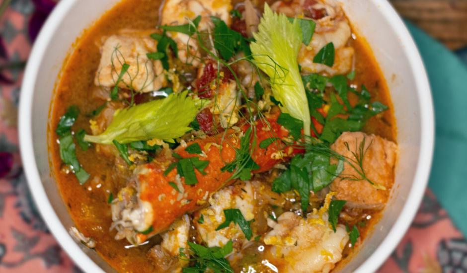 Alaska Seafood Stew