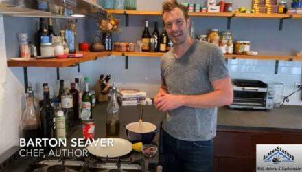 Chef Barton Seaver's Recipe for Canned Salmon Cakes