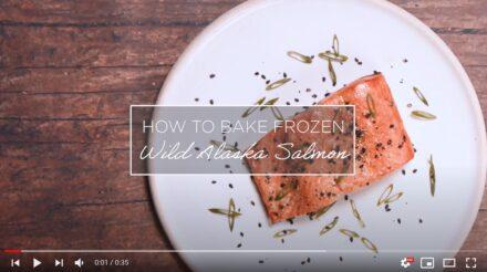 How to Bake Frozen Wild Alaska Salmon