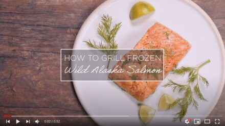 How to Grill Frozen Alaska Salmon 1