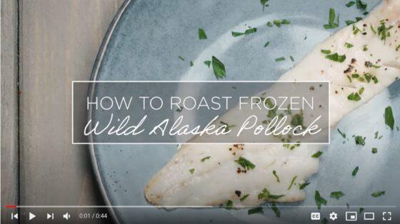 How to Roast Frozen Wild Alaska Pollock
