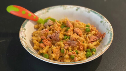 Chef Barton Seaver's Recipe for Canned Salmon Mac and Cheese
