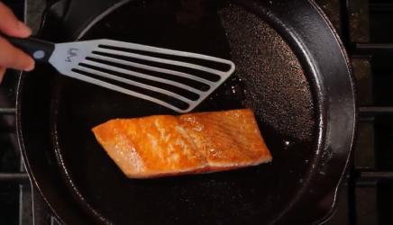Pan Searing Sockeye Salmon