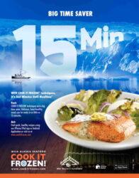 22″x28″ Salmon Poster
