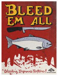 Quality Handling Poster: Bleeding