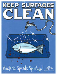 Quality Handling Poster: Cleaning