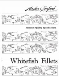 Premium Quality Guidelines for Whitefish Fillets