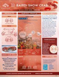 Bairdi Snow Crab Fact Sheet