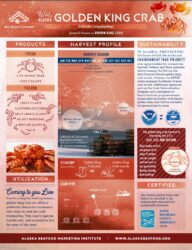 Golden King Crab Fact Sheet